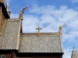 Stave Church Dragons to Frighten Evil Spirits