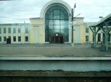 Train Station in Rural Russia
