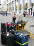 Staging the Luggage