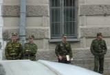 Soldiers in St Petersburg