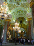 Inside the Peter & Paul Cathedral