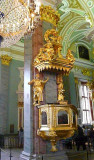 Pulpit in Peter & Paul Cathedral