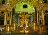 Iconostasis (1729) in Peter & Paul Cathedral