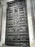 Doors in St Isaac's Patterned after Battistero di San Giovanni in Florence