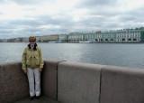 Neva River, Winter Palace, & The Hermitage