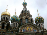 Domes of Church on the Spilled Blood (aka Church of the Resurrection)