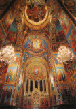 Inside Church on the Spilled Blood - Almost Entirely Mosaics
