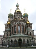 Side View of Church on the Spilled Blood