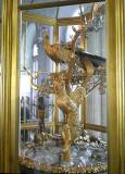 18th Century Peacock Clock in Hermitage Museum