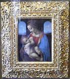 The Madonna Litta (Leonardo di Vinci 1490)