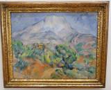 Mont Sainte Victoire (Paul Cezanne 1896)