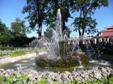 Garden Fountain behind Montplaisir