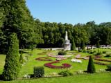Garden & Roman Fountain
