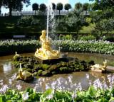 The Orangery Fountain (Triton & Sea Monster)