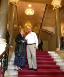 On the Stairs at Nikolaevsky Palace