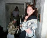 Lorraine & Tami at Backstage Restaurant