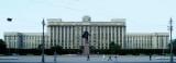Lenin Statue in Moskovskaya Square