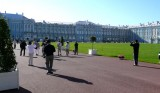 Entering Grounds of Catherine Palace