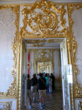 View of Hall of Staterooms Called Golden Enfilade