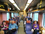 Onboard Sibelius Train