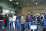 The line at the Van Gogh Museum