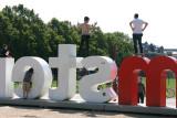 Amsterdam acrobats