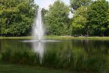 Vondelpark fountain