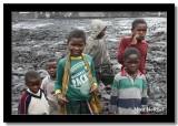 Children on the Lava Flow, Goma, Democratic Republic of Congo