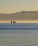 Standing Mono Lake, California, October 2006