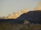 Controled Burn Mono Lake, California, October 2006