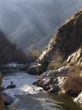 Late Day Fishing Kern River Canyon, California, February 2007
