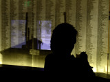 Checking Names  Manzanar National Monument, California, April 2007
