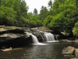 Falls downriver from Exit Falls