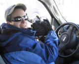 Liz on 2007 midwest eagle safari ©  Liz Stanley