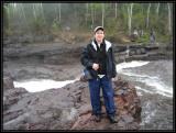Liz hiking in northern Minnesota ©  Liz Stanley