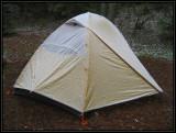 Snow on my tent