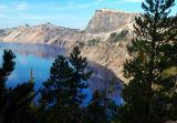 Llao Rock, Hillman Peak, and The Watchman