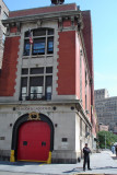 Dr Beaudoin's visit to Ladder 8 FDNY
