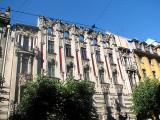 An 'Art Nouveau' (Jugendstil) house in Elizabetes iela
