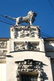 Detail of an 'Art Nouveau' house