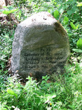 Family tomb stone