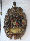An elaborate coat of  arms