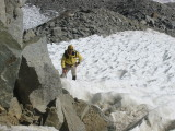 Crossing the Top of the Glacier