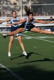 cheerleaders in Brooklyn High Schools at Football Games