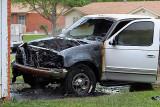 Truck fire 04/13/07
