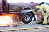 Truck fire 07/23/07