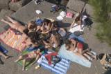 Beach blanket party