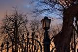 Winter Sunset Lamp