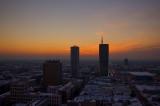 City Skyline Sunset