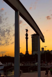 Sunset With Columbus